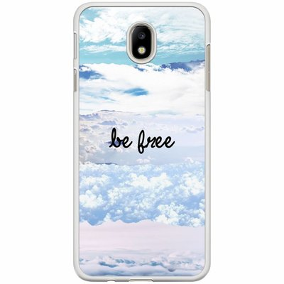 Casimoda Samsung Galaxy J7 2017 hoesje - Be free