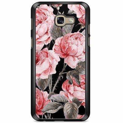 Casimoda Samsung Galaxy A5 2017 hoesje - Moody florals
