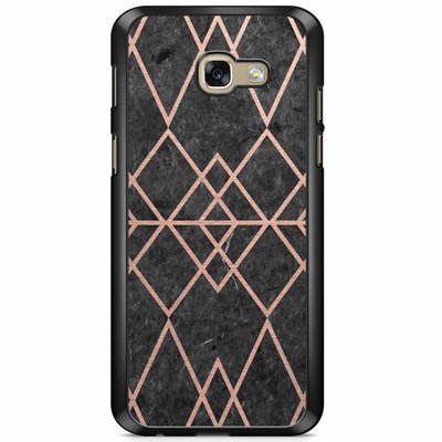 Casimoda Samsung Galaxy A5 2017 hoesje - Abstract rose gold