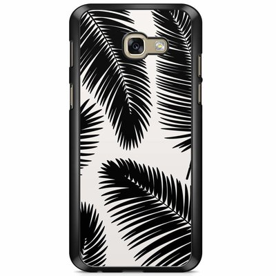 Casimoda Samsung Galaxy A5 2017 hoesje - Palm leaves silhouette