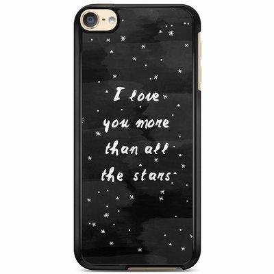 Casimoda iPod touch 6 hoesje - Stars love quote