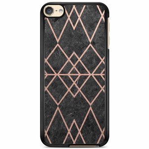 iPod touch 6 hoesje - Abstract rose gold