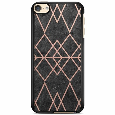Casimoda iPod touch 6 hoesje - Abstract rose gold
