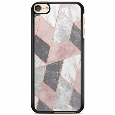 Casimoda iPod touch 6 hoesje - Stone grid