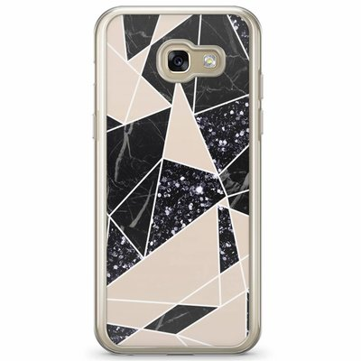 Casimoda Samsung Galaxy A3 2017 siliconen hoesje - Abstract painted