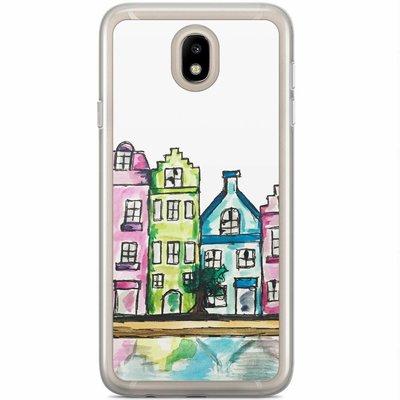 Casimoda Samsung Galaxy J3 2017 siliconen hoesje - Amsterdam