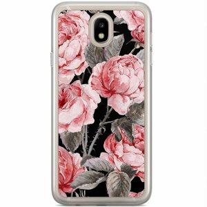 Samsung Galaxy J5 2017 siliconen hoesje - Moody florals