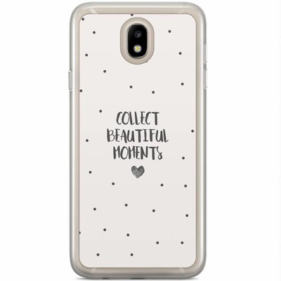 Casimoda Samsung Galaxy J7 2017 siliconen hoesje - Collect beautiful moments