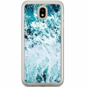Samsung Galaxy J7 2017 siliconen hoesje - Oceaan