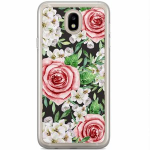 Samsung Galaxy J7 2017 siliconen hoesje - Rose story