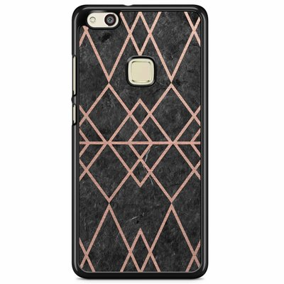 Casimoda Huawei P10 Lite hoesje - Abstract rose gold