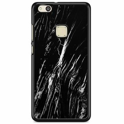 Huawei P10 Lite hoesje - Black marble