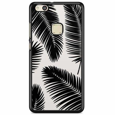 Casimoda Huawei P10 Lite hoesje - Palm leaves silhouette