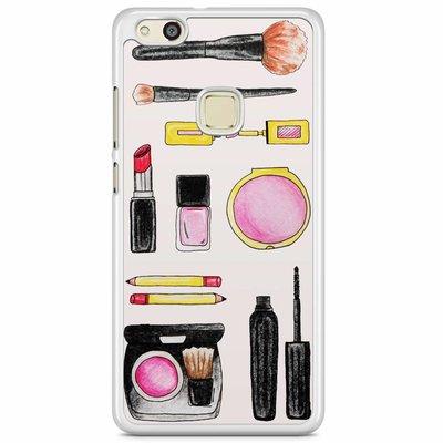 Casimoda Huawei P10 Lite hoesje - Wake up and make up