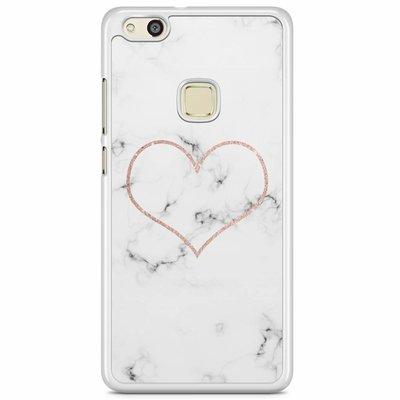 Casimoda Huawei P10 Lite hoesje - Marmer hart