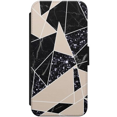 Casimoda iPhone 7/8 flipcase - Abstract painted