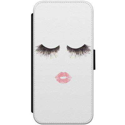 Casimoda iPhone 7/8 flipcase - Fashion eyelashes