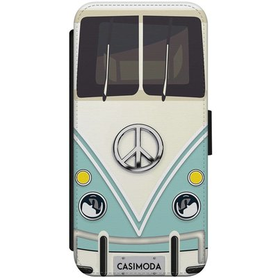 Casimoda iPhone 7/8 flipcase - Hippie bus