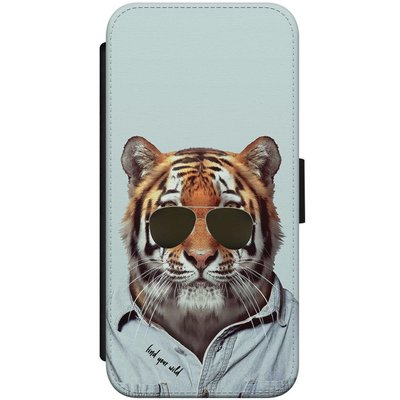 Casimoda iPhone 7/8 flipcase - Tijger wild
