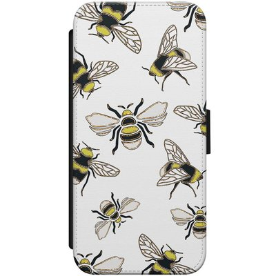 Casimoda iPhone 7/8 flipcase - Queen bee
