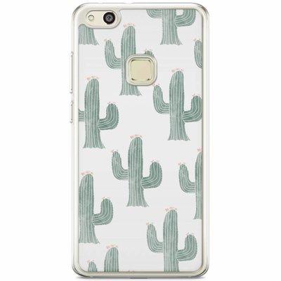 Casimoda Huawei P10 Lite siliconen hoesje - Cactus print