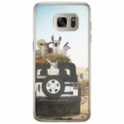 Samsung Galaxy S7 Edge siliconen hoesje - Adventure awaits