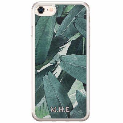 Casimoda Siliconen hoesje met naam - Jungle