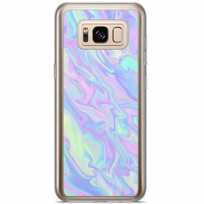 Casimoda Samsung Galaxy S8 Plus siliconen hoesje - Hologram