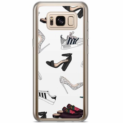 Casimoda Samsung Galaxy S8 Plus siliconen hoesje - Shoe stash