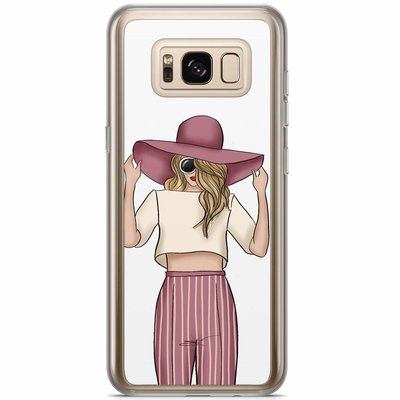 Casimoda Samsung Galaxy S8 Plus siliconen hoesje - Summer girl