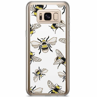 Casimoda Samsung Galaxy S8 Plus siliconen hoesje - Queen bee