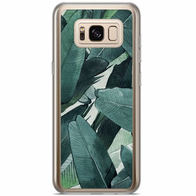 Casimoda Samsung Galaxy S8 Plus siliconen hoesje - Jungle