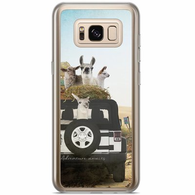 Casimoda Samsung Galaxy S8 Plus siliconen hoesje - Adventure awaits