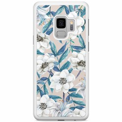 Samsung Galaxy S9 hoesje - Touch of flowers