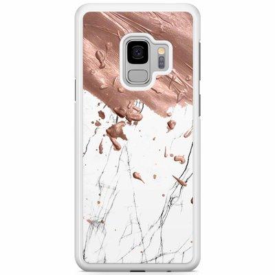 Casimoda Samsung Galaxy S9 hoesje - Marble splash