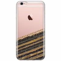 iPhone 6/6s siliconen hoesje - Modern wood