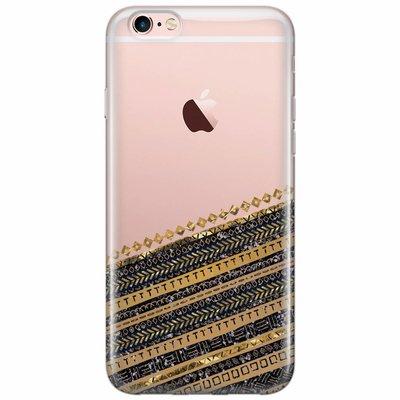 Casimoda iPhone 6/6s siliconen hoesje - Modern wood