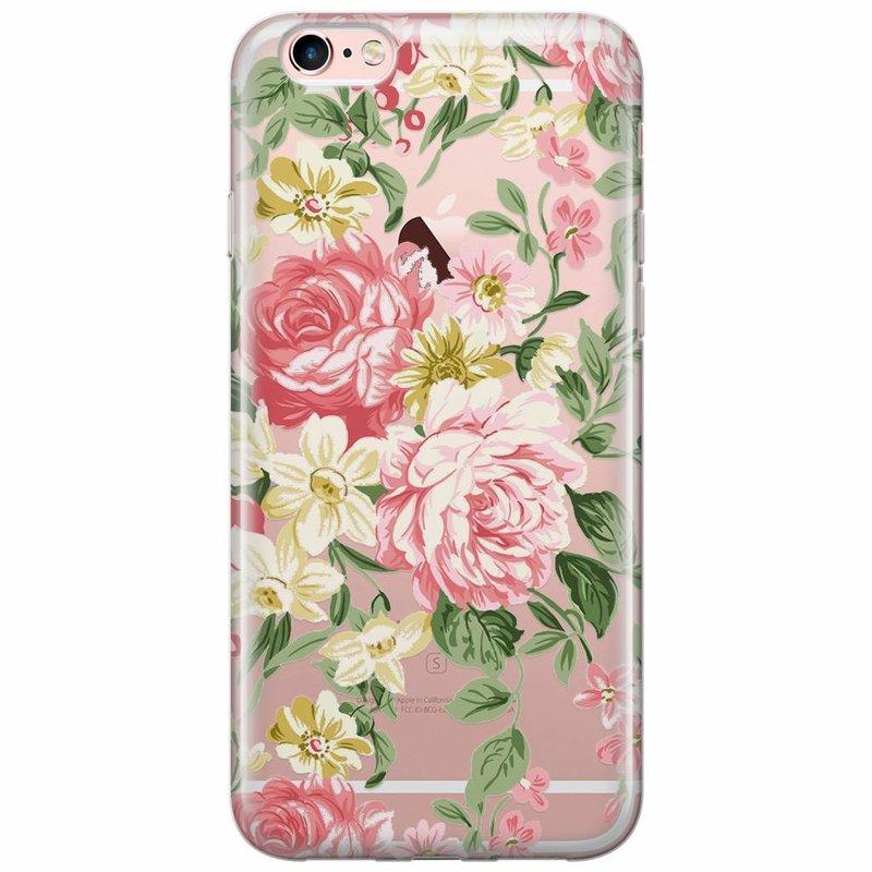 Casimoda iPhone 6/6s siliconen hoesje - Floral
