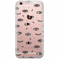 Casimoda iPhone 6/6s transparant hoesje - Eye see you
