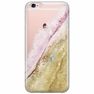 Casimoda iPhone 6/6s transparant hoesje - You are gold