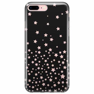 Casimoda iPhone 8 Plus/7 Plus transparant hoesje - Sky full of stars