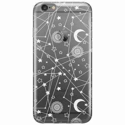 Casimoda iPhone 6/6s siliconen hoesje - Space universum