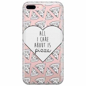 iPhone 7 Plus / iPhone 8 Plus hoesje - Pizza is love
