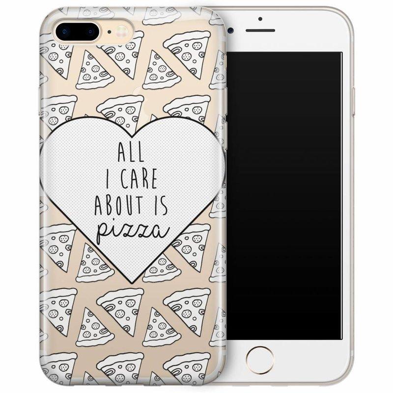 iPhone 7/8 Plus hoesje - Pizza is love