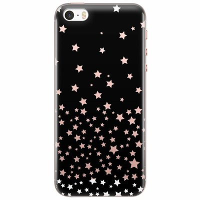 Casimoda iPhone 5/5S/SE transparant hoesje - Sky full of stars