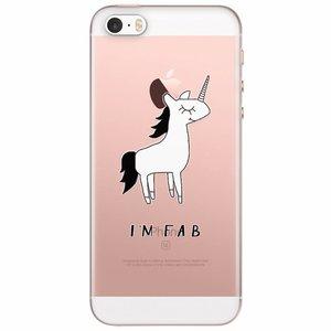 iPhone 5/5S/SE transparant hoesje - I'm fab