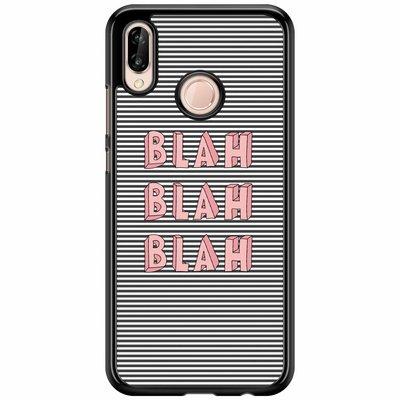 Casimoda Huawei P20 Lite  hoesje - Blah blah blah