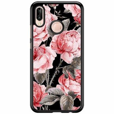 Casimoda Huawei P20 Lite  hoesje - Moody florals
