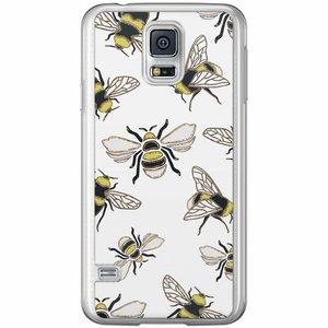 Samsung Galaxy S5 (Plus) / Neo siliconen hoesje - Queen bee