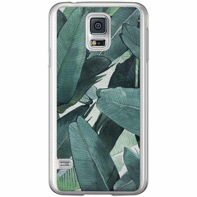Casimoda Samsung Galaxy S5 (Plus) / Neo siliconen hoesje - Jungle